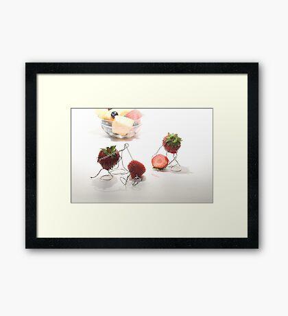 Fruit Salad Surgery Framed Print