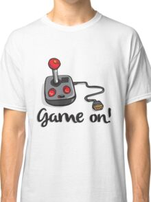 Game on! - Old school 80's computer Joystick Classic T-Shirt