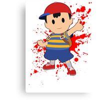 Ness - Super Smash Bros Canvas Print