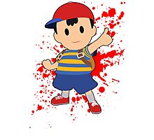 Ness - Super Smash Bros Photographic Print