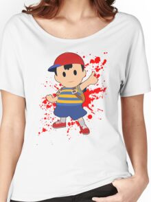 Ness - Super Smash Bros Women's Relaxed Fit T-Shirt
