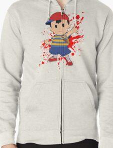 Ness - Super Smash Bros Zipped Hoodie