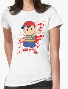 Ness - Super Smash Bros Womens Fitted T-Shirt
