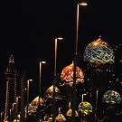 Blackpool at night by Maisie Sinclair