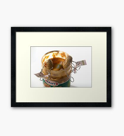 Another Day At The Peanut Butter Factory Framed Print