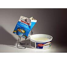 Sour Cream Photographic Print