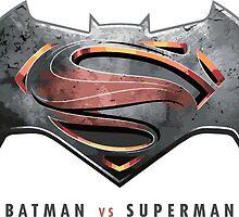 batman vs superman by Claudio93