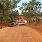 The red dusty roads & river crossing of the Kimberley by DianneLac
