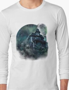 The Haunted House Paranormal Long Sleeve T-Shirt