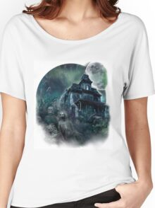 The Haunted House Paranormal Women's Relaxed Fit T-Shirt