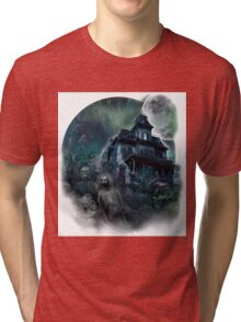 The Haunted House Paranormal Tri-blend T-Shirt
