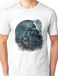 The Haunted House Paranormal Unisex T-Shirt