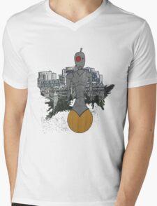 roller-bot  Mens V-Neck T-Shirt