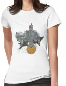 roller-bot  Womens Fitted T-Shirt