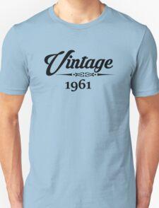 Vintage 1961 Unisex T-Shirt