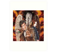 Matt Smith ; The Time of Angels Art Print