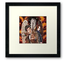 Matt Smith ; The Time of Angels Framed Print