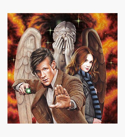 Matt Smith ; The Time of Angels Photographic Print
