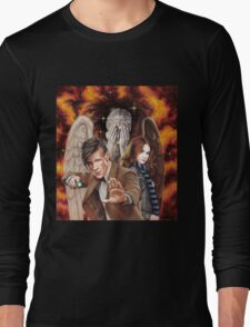 Matt Smith ; The Time of Angels Long Sleeve T-Shirt