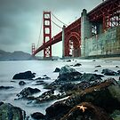 Golden Gate Star Day by jswolfphoto