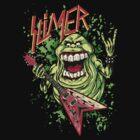 SLIMER THRASHIN' MAD!!! by helljester