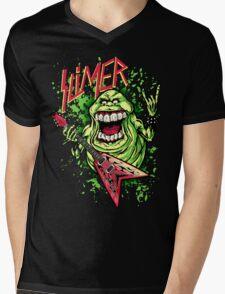 SLIMER THRASHIN' MAD!!! Mens V-Neck T-Shirt
