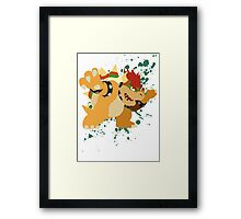Bowser - Super Smash Bros Framed Print