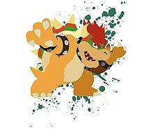 Bowser - Super Smash Bros Photographic Print