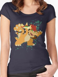 Bowser - Super Smash Bros Women's Fitted Scoop T-Shirt