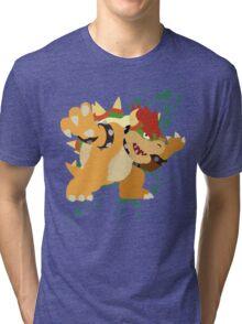 Bowser - Super Smash Bros Tri-blend T-Shirt