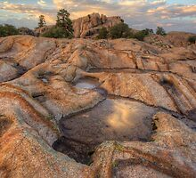 Pouring Granite by Bob Larson