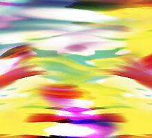 Abstract colorful Art Design by william langeveld