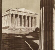 Vintage poster - Greece Sticker
