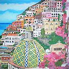 Positano, Italy by Teresa Dominici