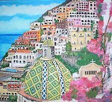 Positano, Italy by Teresa Dominici