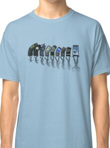 Phones evolution Classic T-Shirt