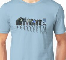 Phones evolution Unisex T-Shirt