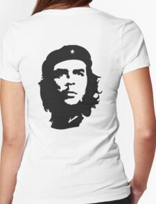 CHE, Che Guevara, Revolution, Marxist, Revolutionary, Cuba, Power to the people! Black on White T-Shirt