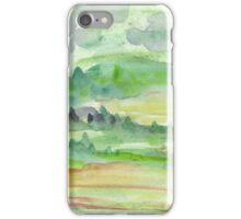 Green Landscape iPhone Case/Skin
