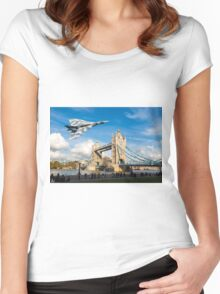 Two Icons, Ancient and Modern Women's Fitted Scoop T-Shirt