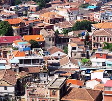 Rooftops of Gulangyu © by Ethna Gillespie