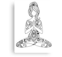 Yoga Om Chakras Mindfulness Meditation Zen 3 Metal Print
