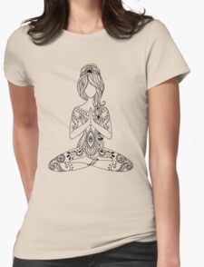 Yoga Om Chakras Mindfulness Meditation Zen 3 T-Shirt