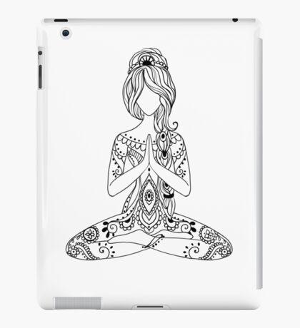 Yoga Om Chakras Mindfulness Meditation Zen 3 iPad Case/Skin