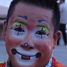 Portrait Of A Clown - Retrato De Un Payaso by Bernhard Matejka