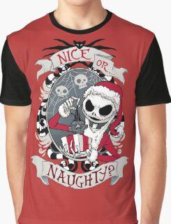 Scary Santa Graphic T-Shirt