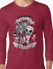 Scary Santa Long Sleeve T-Shirt