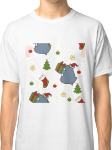 Holiday Penguin  Classic T-Shirt