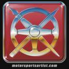 Motorsports Artist Logo by davidkyte