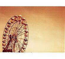 Unridden Wheel Photographic Print